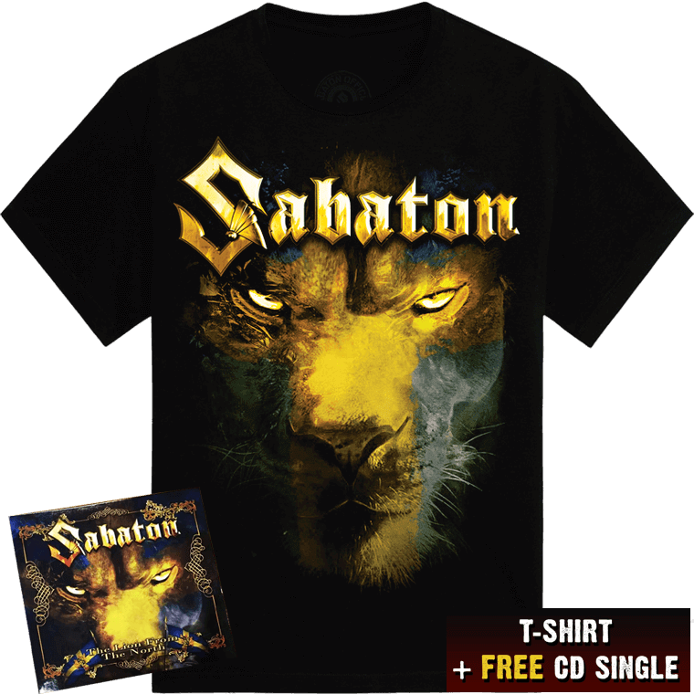 The Lion from the North Tshirt and a FREE CD single