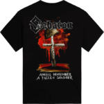 40:1 Always Remember Sabaton T-shirt Backside