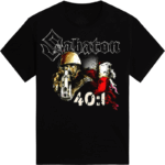 40:1 Always Remember Sabaton T-shirt Frontside