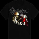 40:1 Always Remember Sabaton T-shirt Frontside