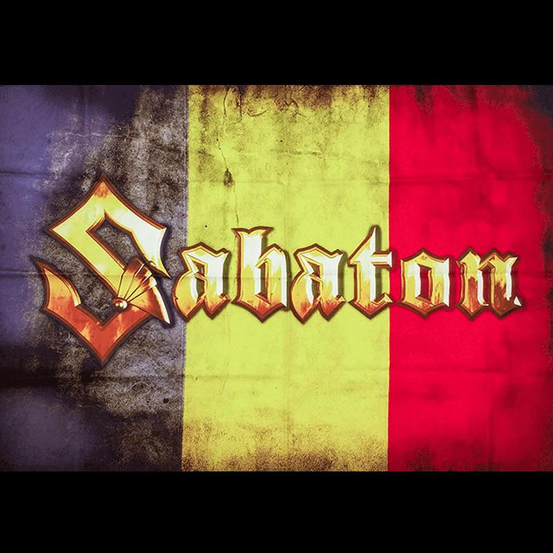 Belgium Sabaton Logo Flag