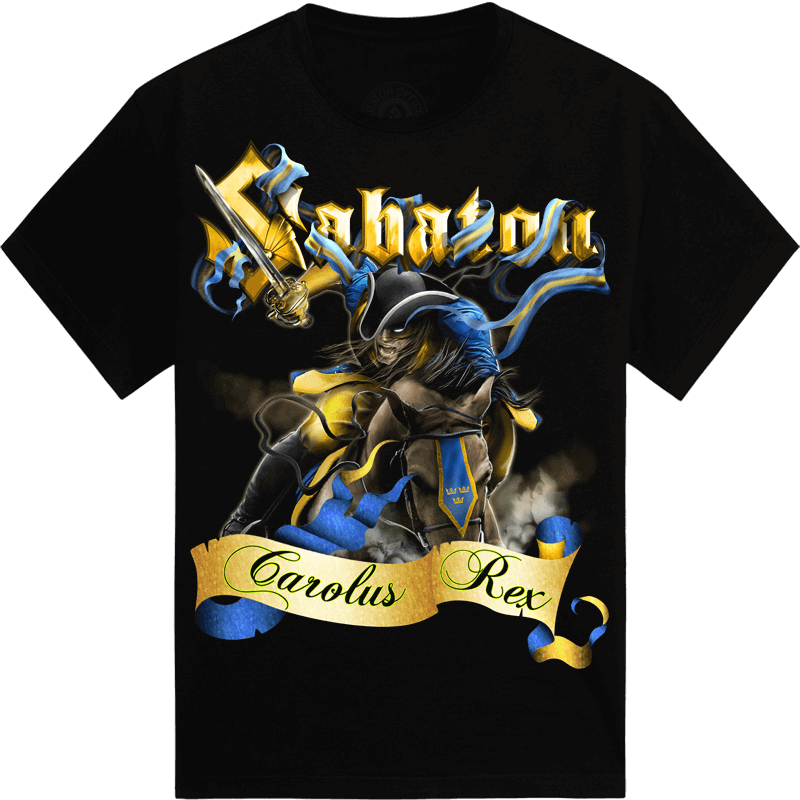 Born to Rule Sabaton T-shirt Frontside