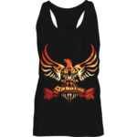 Coat of arms Sabaton girls tank top frontside