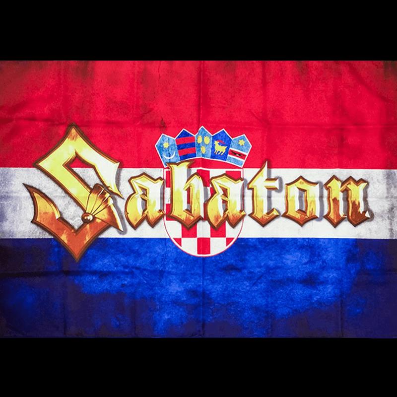 Croatia Sabaton Logo Flag