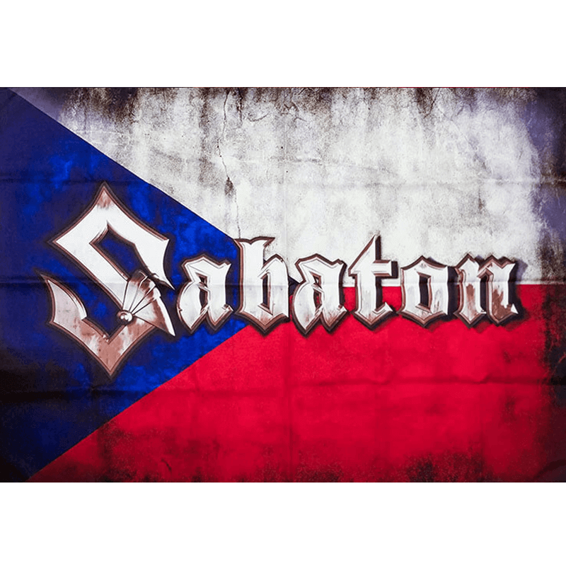 Czech Republic Sabaton Logo Flag