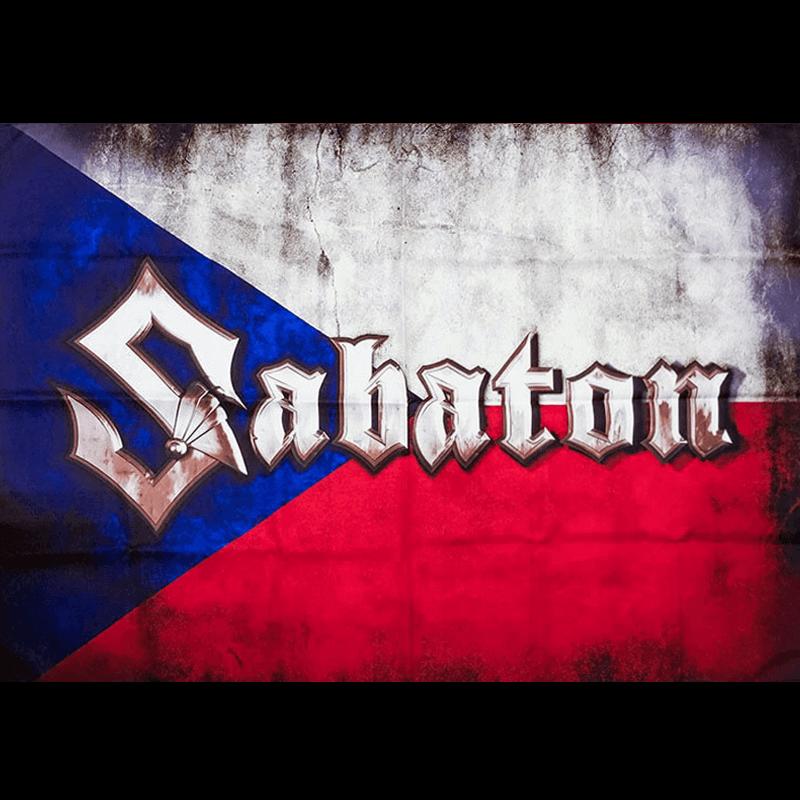 Czech Republic Sabaton Logo Flag