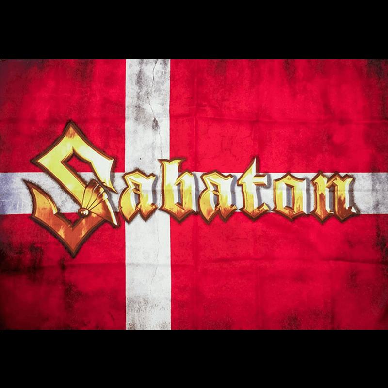 Denmark Sabaton Logo Flag