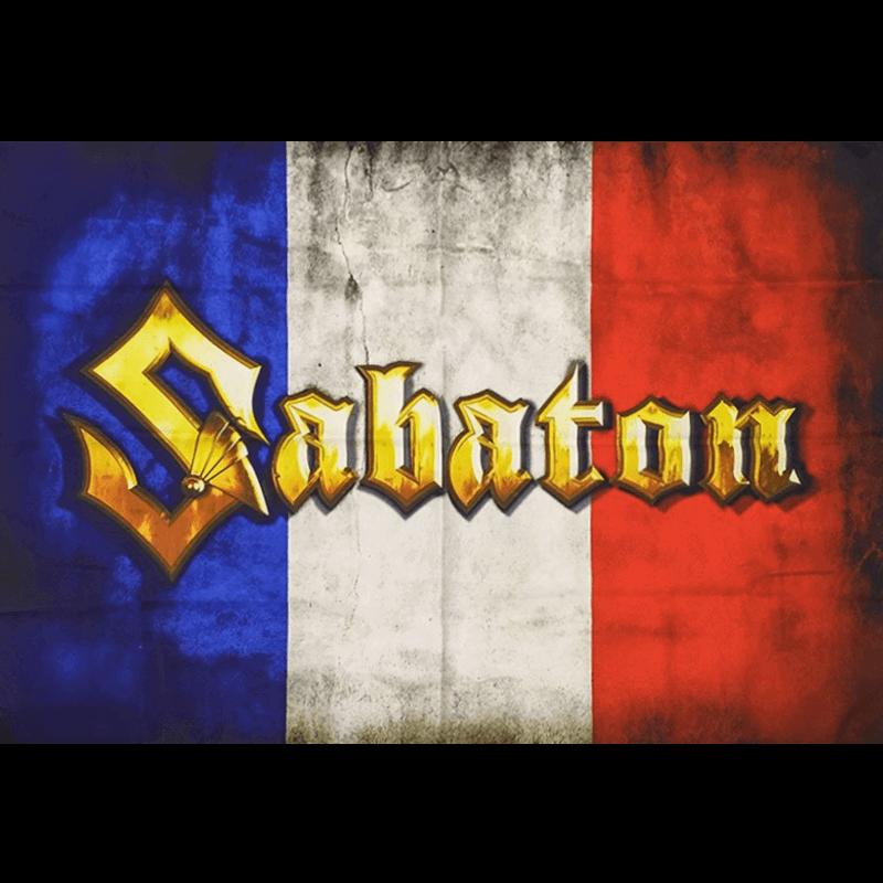 France Sabaton Logo Flag