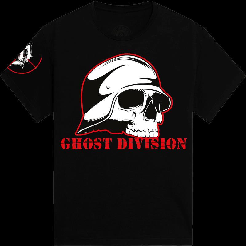 Ghost division Sabaton tshirt frontside