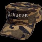 Green khaki camo Sabaton cap