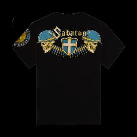 Sabaton Heroes By Affliction Kids T-shirt Backside