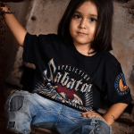 Sabaton Heroes By Affliction Kids T-shirt Model