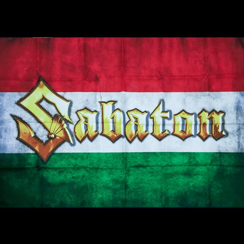 Hungary Sabaton Logo Flag