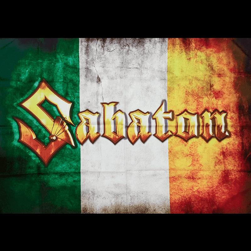 Ireland Sabaton Logo Flag