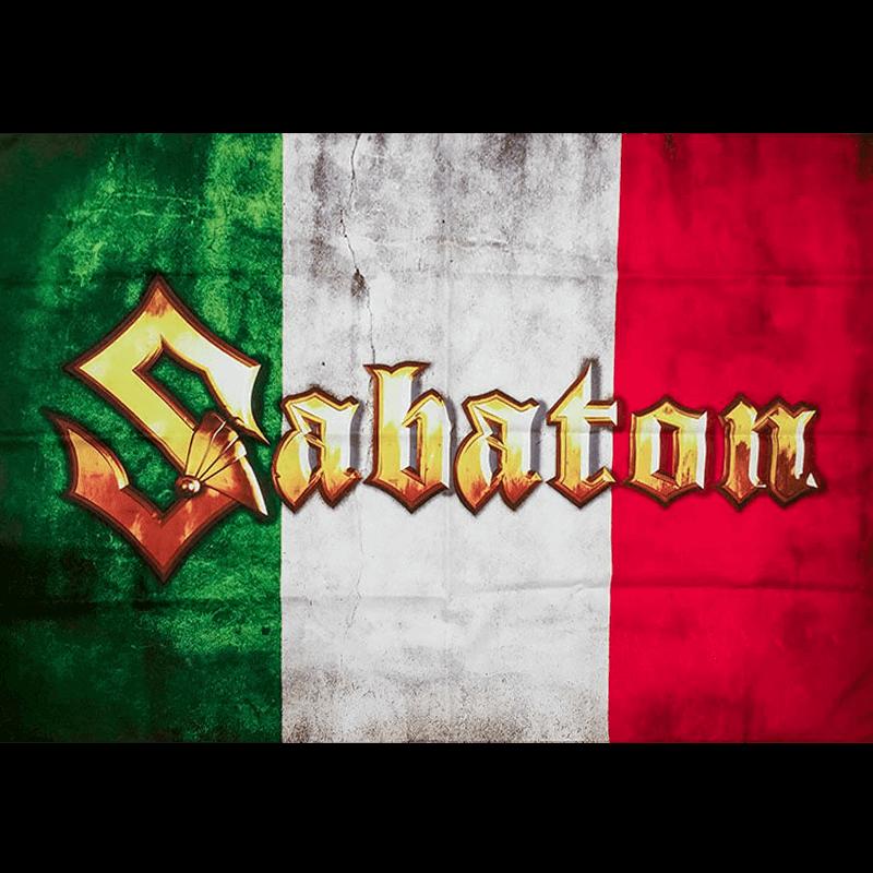 Italy Sabaton Logo Flag