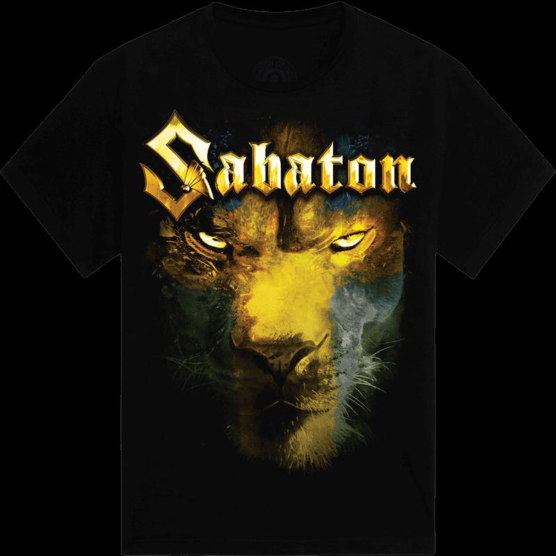 Lejonet fran norden Sabaton tshirt frontside