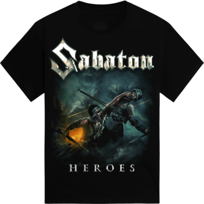 Man of war Sabaton tshirt frontside
