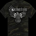 Phoenix camo Sabaton tshirt frontside