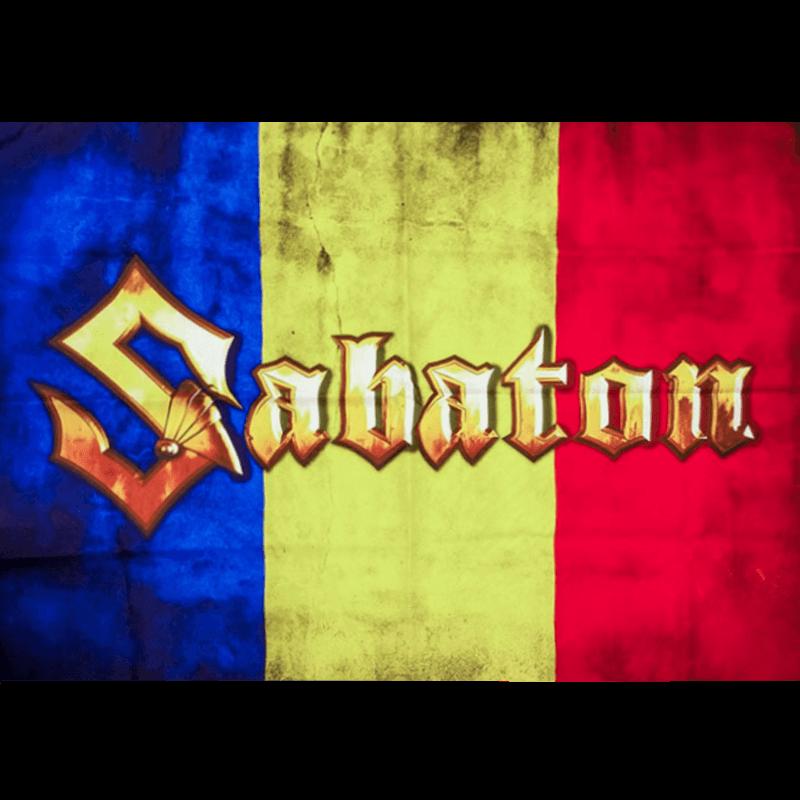 Romania Sabaton Logo Flag