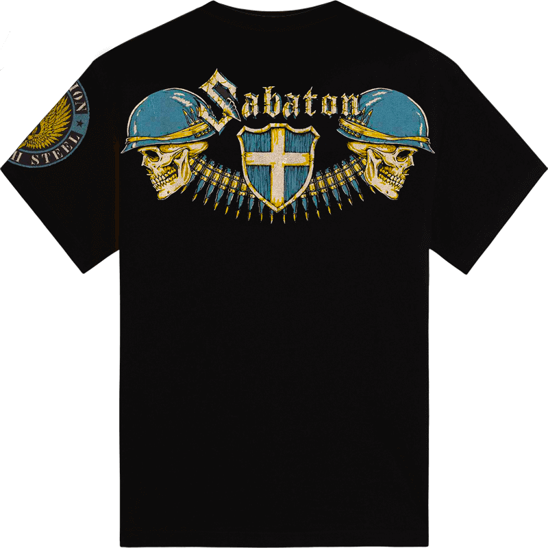Sabaton Heroes By Affliction Back T-shirt Kids