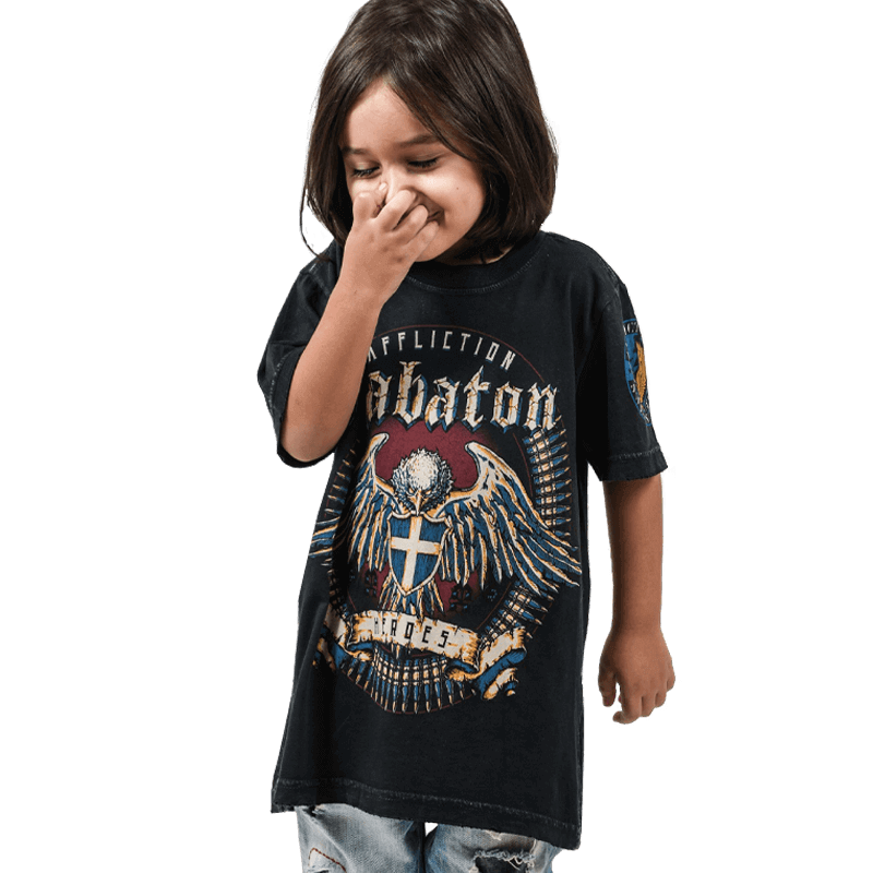 Sabaton Heroes By Affliction T Shirt Kids Sabaton