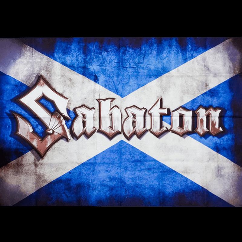 Scotland Sabaton Logo Flag