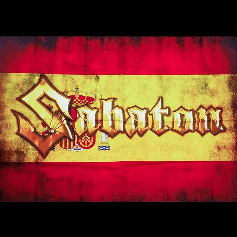 Spain Sabaton Logo Flag