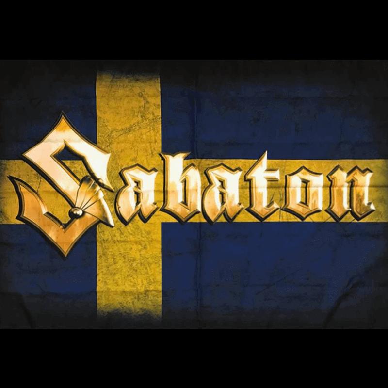 Sweden Sabaton Logo Flag