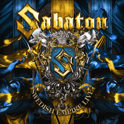 Swedish empire live Sabaton CD