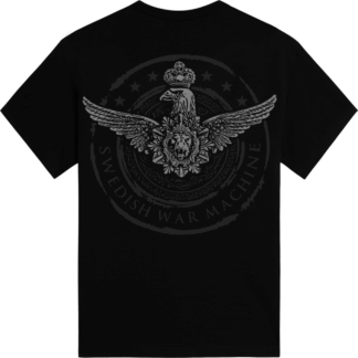 Swedish war machine Sabaton tshirt backside