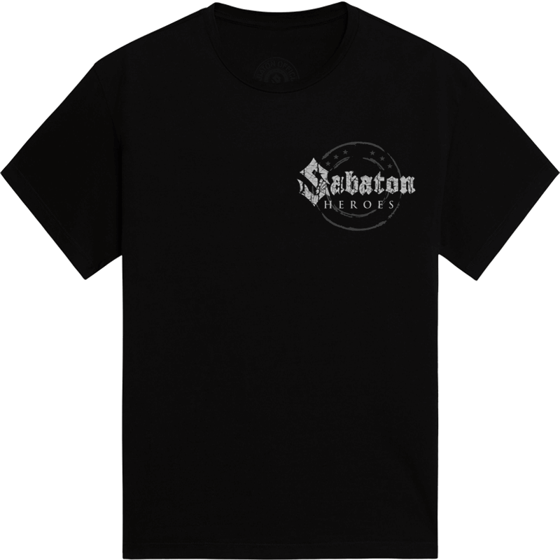 Swedish war machine Sabaton tshirt frontside