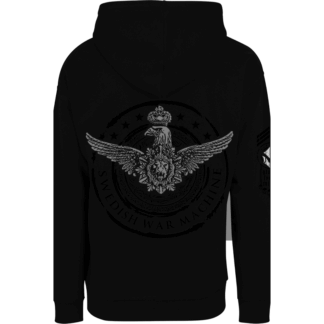 Swedish war machine Sabaton zip hoodie backside