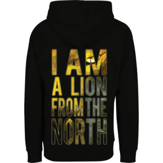The lion from the north Sabaton nonzip hoodie backside