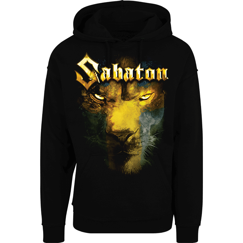 The lion from the north Sabaton nonzip hoodie frontside