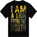 The lion from the north Sabaton tshirt backside