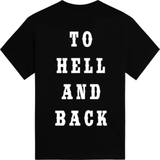 To hell and back Sabaton tshirt backside