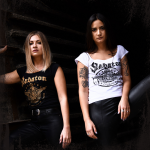 Wings of Glory Sabaton White T-shirt Frontside Models