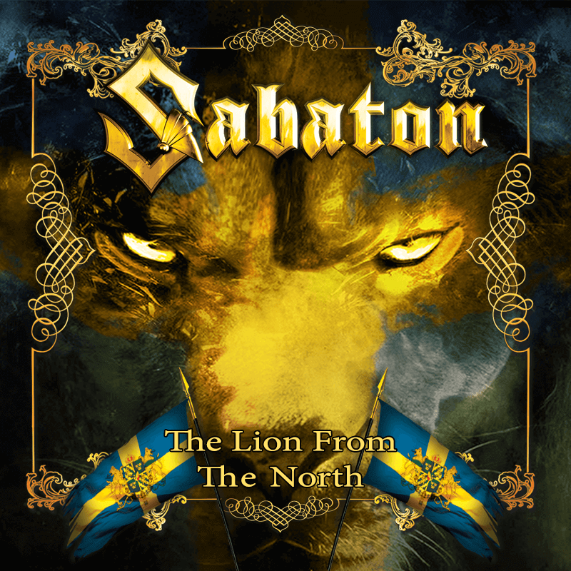 The lion from the north cd single Sabaton