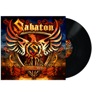 Coat of arms vinyl lp Sabaton