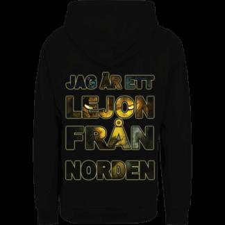 Lejonet fran norden Sabaton nonzip hoodie backside