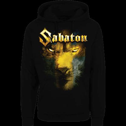 Lejonet fran norden Sabaton nonzip hoodie frontside