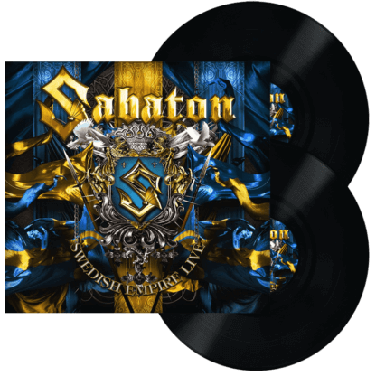 Swedish empire live vinyl lp Sabaton