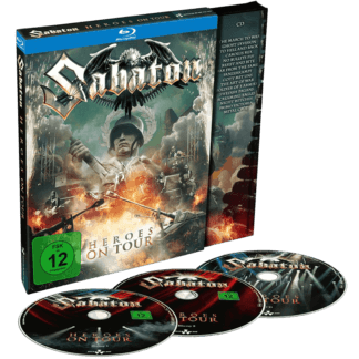 Heroes on tour blu -ray and cd Sabaton