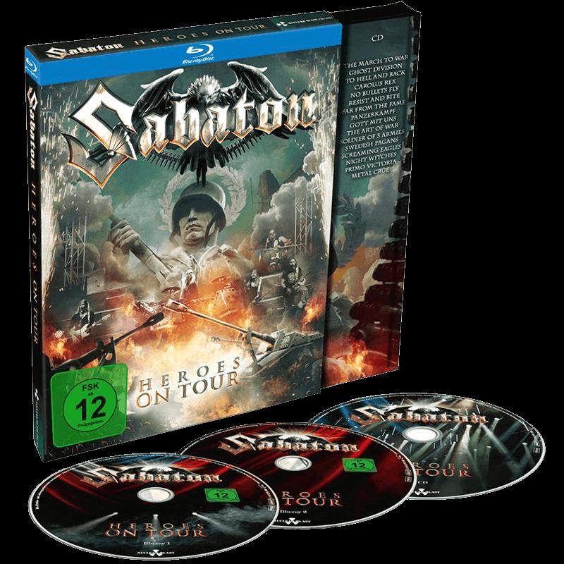 Heroes on tour blu -ray and cd Sabaton