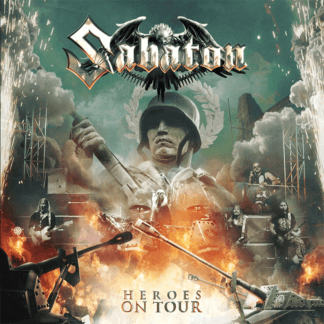 Heroes on tour Sabaton CD