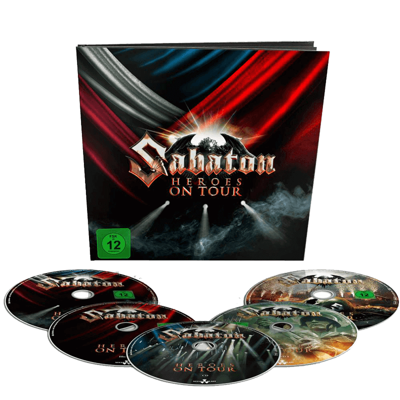 Sabaton Heroes On Tour Earbook