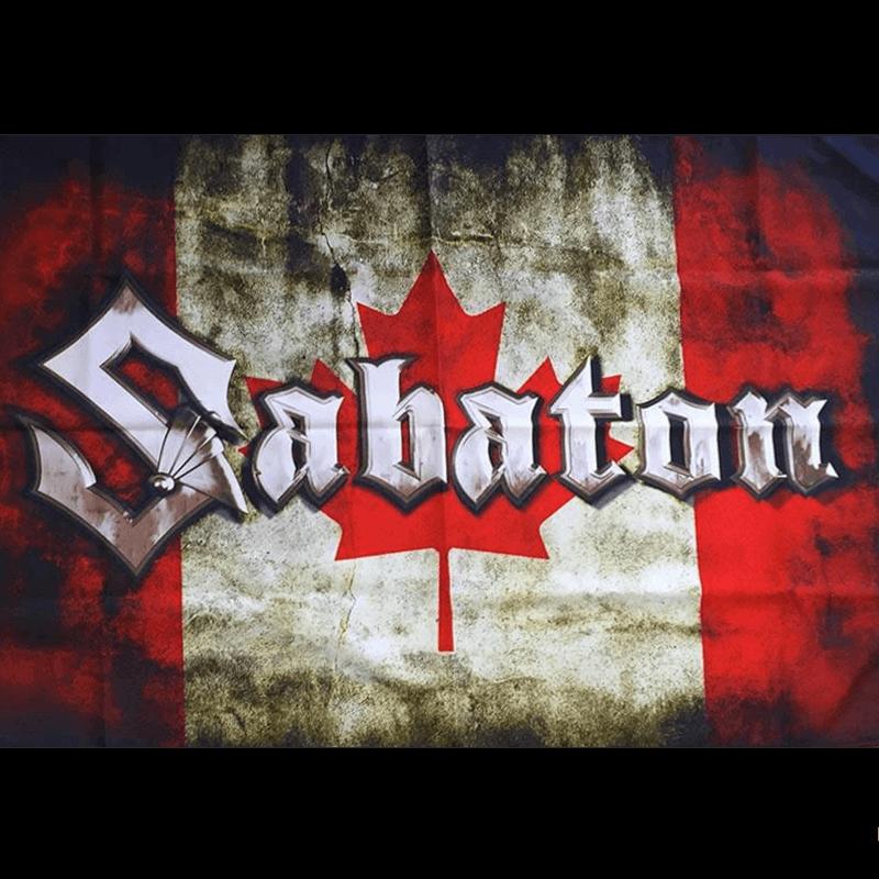 Canada Sabaton Logo Flag
