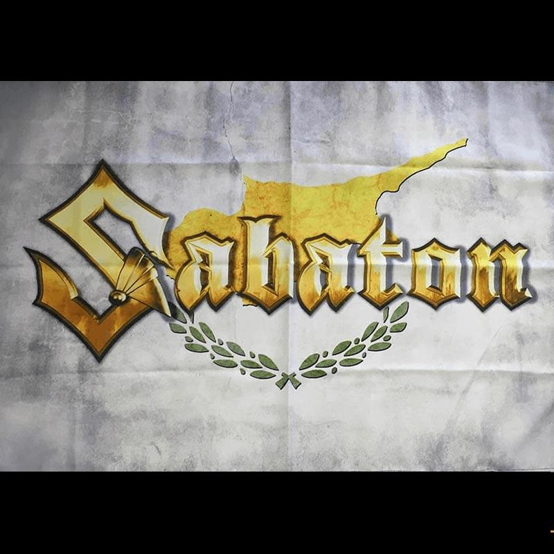 Cyprus Sabaton Logo Flag