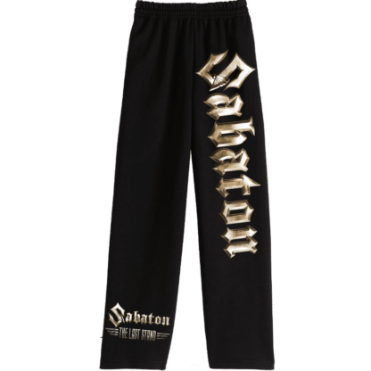 The last stand jogging pants front Sabaton