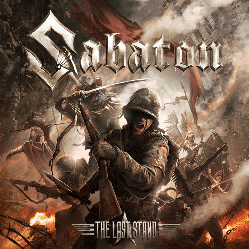 The Last Stand Sabaton CD